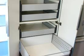 slide out drawers for kitchen cabinets rev a shelf pull out drawer in h x in w x in d double rev a shelf