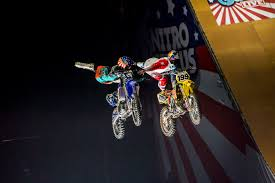 nitro circus monster truck backflip nitro circus travis pastrana is back on a dirtbike u2013 motocross