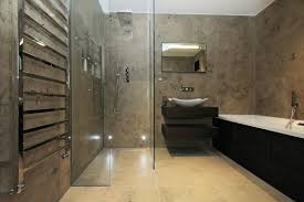 plain design bathrooms m with decor