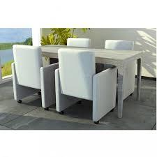 fauteuil cuisine chaises de cuisine et de salle a manger fauteuil a roulettes blanc
