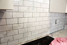 latest kitchen subway tile backsplash wallpaper home design
