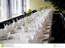 Elegant Table Settings Elegant Table Setting Royalty Free Stock Images Image 26899299