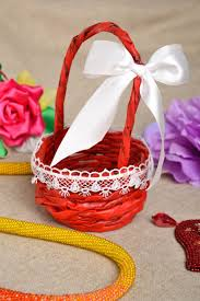 madeheart u003e handmade designer paper basket stylish home decor