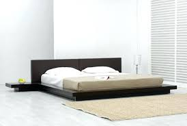 Modern Bed Frame Japanese Platform Bed Bed Frames Low Platform Bed Frame Platform
