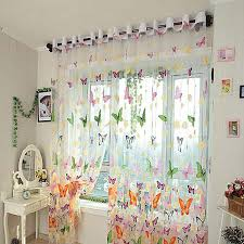 Butterfly Lace Curtains Curtains Extraordinary Butterfly Curtains For Home Sheer