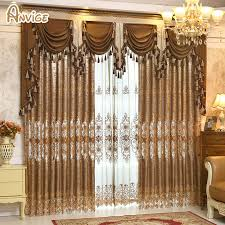Valances For Living Room Windows by Online Get Cheap Bedroom Window Valances Aliexpress Com Alibaba