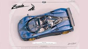 pagani drawing of course there is a new pagani zonda