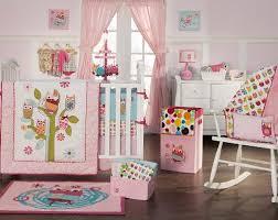 Owls Crib Bedding Zutano Owls 4 Crib Bedding Set Pink