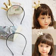 korean headband stock crown korean baby girl headband hair accessories