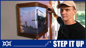 wrap around corner picture frames step woodworking youtube wrap around corner picture frames step woodworking