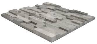 3d polished grey brick stone tile pebble shop additional photos