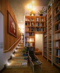 modern home library interior design 16 stair led home library interior design ideas