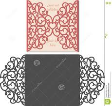 Wedding Invite Card Stock Laser Cut Envelope Template For Invitation Wedding Card Stock