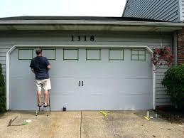 Painted Barn Doors by How To Paint A Garage Doorgarage Doors Color Ideas Barn Door