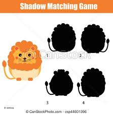 eps vectors of shadow matching game find the correct silhouette