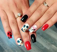 21 mickey mouse nail art designs ideas design trends premium
