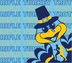 6th annual rifle thanksgiving day turkey trot rifle co 2017