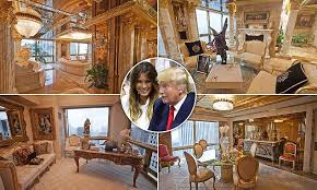 trumps gold house peep the insides of donald trump s 100m penthouse