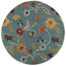 home decorators collection portico peacock 5 ft 9 in x 5 ft 9 Peacock Area Rugs
