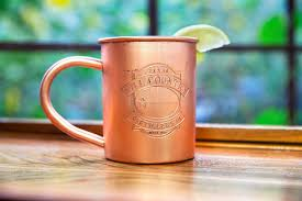 100 count bulk etched copper mugs alchemade