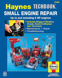 small engine repair haynes techbook 5 hp and less haynes repair