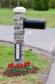 best 25 mailbox makeover ideas on mailbox mailbox