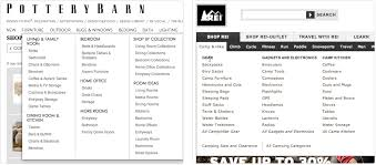 Pottery Barn Mobile Site An E Commerce Study Guidelines For Better Navigation And