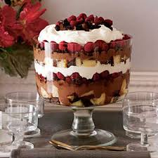 easy dessert recipes chocolate raspberry trifle recipe at