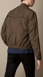 burberry showerproof er jacket in natural for men lyst