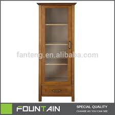 corner storage cabinet with shelves and door wooden storage
