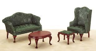 Victorian Living Room Set From Fingertip Fantasies Dollhouse - Victorian living room set