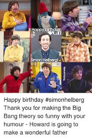 Big Bang Theory Birthday Meme - tbbscenesig happy birthd simon helberg happy birthday