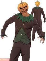 halloween pumpkin animation mens goosebumps halloween costume dummy scarecrow pumpkin clown