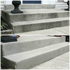 How To Clean A Concrete Patio by How To Clean Concrete Home Made Interest