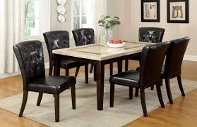 Dining Room Furniture Pieces Chair Dark Wood Dining Room Chairs Gorgeous Modern Table And Cream