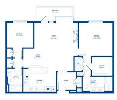 2 Bedroom House Plans Open Floor Plan Plan 1179 Ranch Style Small House Plan 2 Bedroom Split House