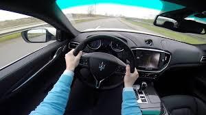 maserati velvet maserati ghibli s q4 410bhp pov test drive gopro with loop