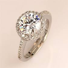 galaxy wedding rings galaxy brand 100 925 sterling silver engagement ring new trendy