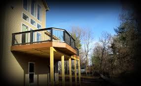 balcony decks elevated decks without stairs by archadeck u2013 st