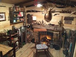 Barn Wood Basement Rustic Cabin Man Cave Built In Basement U2013 Diy Already