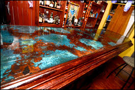 epoxy table top resin bar top and table top clear epoxy resin 1 gallon