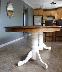 Dining Room Table Refinishing Diy Refinish An Old Oak Table Oak Table Paint Furniture And