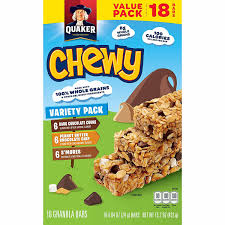 Top 10 Healthiest Granola Bars by Quaker Chewy Granola Bars Variety Value Pack 18 Bars