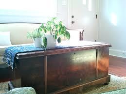 Vintage Trunk Coffee Table Coffee Table Dark Wood Chest Coffee Table Modern Tables Vintage