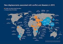 Germany On A World Map by Idmc Grid 2016 Global Report On Internal Displacement