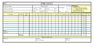 Excel Timesheet Template With Formulas Microsoft Excel Spreadsheet Templates Spreadsheet Template