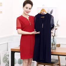 elderly women dresses juanbo 2017 new elderly women s section middle aged 40