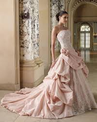 wedding dresses with color wedding gowns with color blomwedding