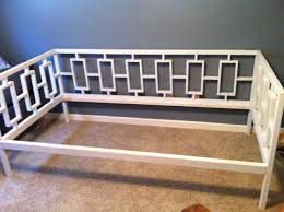 Diy Daybed Frame Size Daybed Frame In Cozy Rectangles Daybed Rectangles