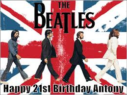 beatles cake toppers a4 personalised the beatles road uk flag edible icing or
